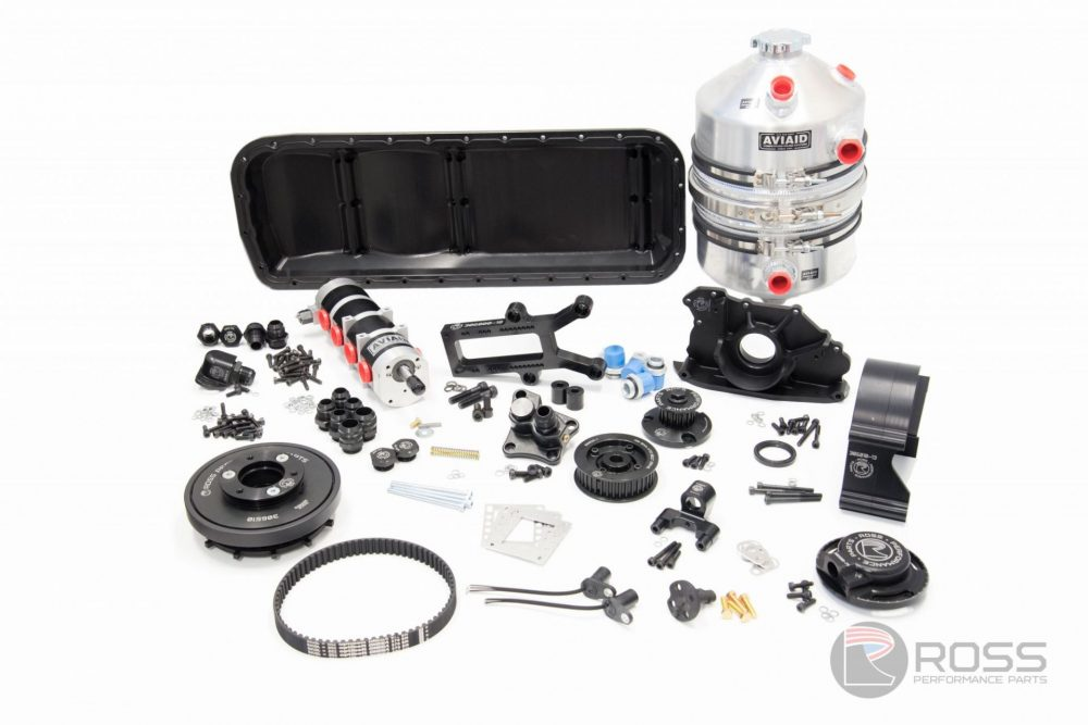306510-110GT Nissan RB30 (Aus) Crank-Cam Trigger (Single Cam) RWD Dry Sump Kit (4 Stage)
