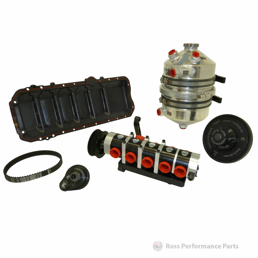 Toyota 1JZ / 2JZ / 2JZ-VVTi Dry Sump Kit (5 Stage) - Ross Performance Parts