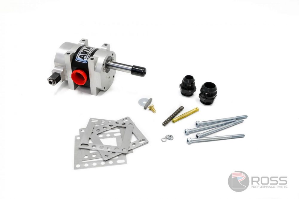 9950110-3800 Universal Aviaid Single Stage External Oil Pump - LH Mounting with 1x1.5 Pressure