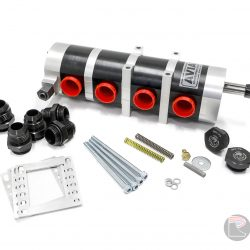 9950411-3845 Universal Aviaid 4 Stage External Oil Pump - LH Mounting with 1x1.5 Pressure and 3x1.75 Suction
