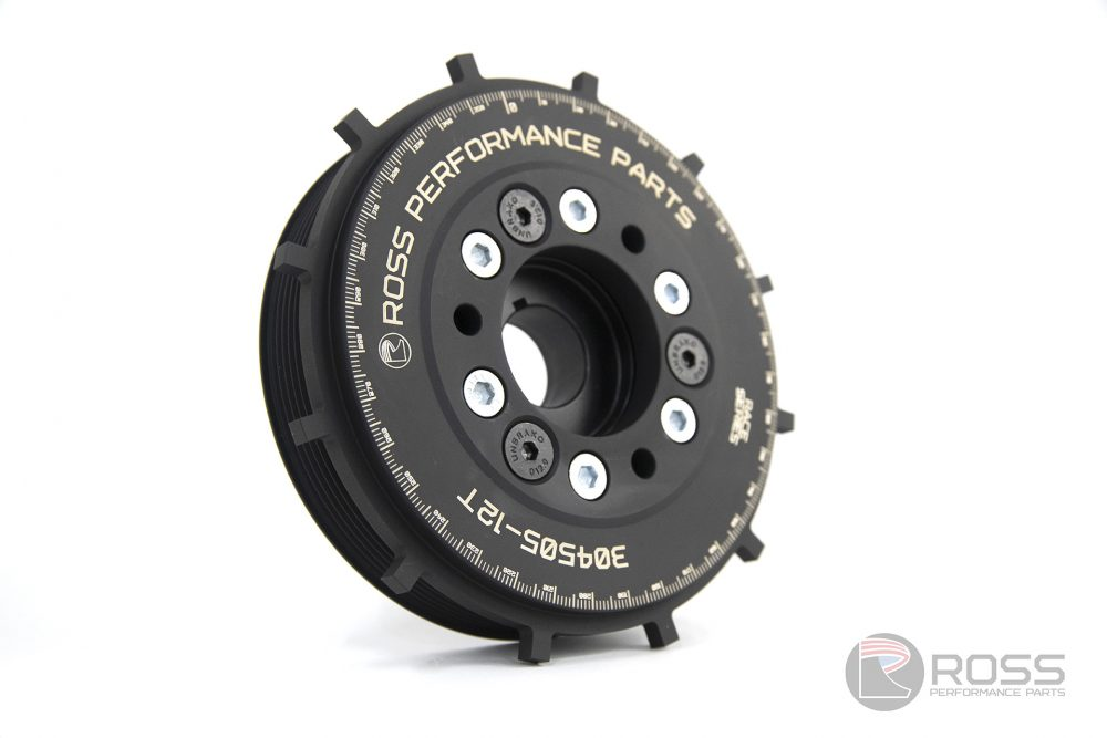 304505-12T Nissan KA24DE FWD Race Series Harmonic Damper with Integrated 12 Tooth Trigger